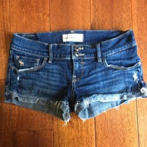 Abercrombie kids jean shorts girls size 16